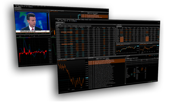 Netdania stock and forex trader